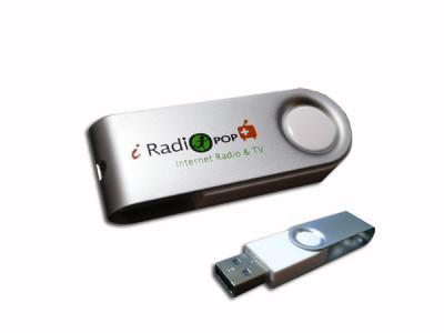 世界20,000局のラジオと、5,000局のTVを視聴可能なインターネットTV&ラジオ機能付きUSBアダプタiRadio POP発売