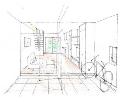 今流行の自転車をデザインに取り入れたユニークな賃貸住宅が池袋近郊の高級住宅街に出現!<br />新築物件入居者募集のお知らせ。