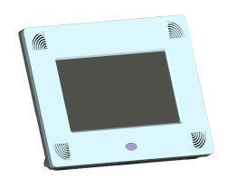 店頭販促・デジタルサイネージとしてのご利用にも最適な7インチ薄型デジタルフォトフレーム<br />『GP7-WH』の販売を11月より開始します。