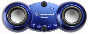 これからのドライブシー<br />ズンにうってつけの商品、安全・快適!音楽を楽しみながら、携帯電話で通話もできるBluetooth接続ハンズフリー付車載スピーカー「トランストロン・サウンドTTS-BT1」