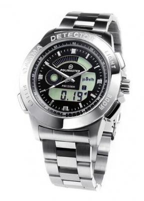 レッドスター、米ポリマスター社製の腕時計型ガイガーカウンター「PM1208M」を国内販売
