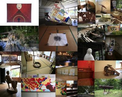 四万温泉で現代アートの祭典が開催されます『温泉郷美術祭 中之条ビエンナーレ2011プレオープン』