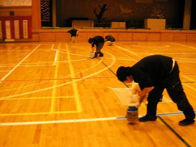 バスケットボールコートライン改線の工事専門「COURT LINE PRO《コートラインプロ》」~より見やすく、より安全に~