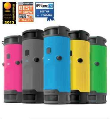 遂に発売!噂の水筒型ポータブルワイヤレススピーカー boomBOTTLE(ブームボトル)!耐水、耐衝撃、防塵仕様、色鮮やかに5色揃って日本の行楽シーズンを盛り上げます!