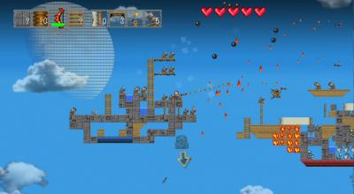ミラクルポジティブPlayStation(R)Vita参入第一弾!サンドボックスアクションRPG「Airship Q エアーシップキュー」、クラウドファンディングサイト「Makuake」で資金調達開始