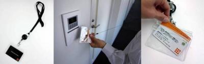 オレンジタグス、非接触ICカード専用のアクセサリ製品を拡充新製品『コード巻取リール式クリップ付ネックストラップ名札&名刺IDカードケース』