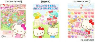 日本エンタープライズ、Mobage向け新規ゲーム『るんるんはろーきてぃ2』を提供開始