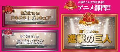 コアなファンたちが選ぶ2013年最も面白かった<br />アニメ・漫画・アニソン・劇場アニメはこれだ!<br />「AWESOME AWARD 2013」ついに結果発表!!