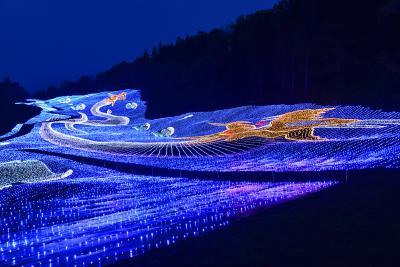 今夏、新潟県妙高市に東日本最大級のサマーイルミネーションが誕生!
