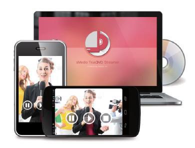 PCドライブのDVDをスマホ/タブレットで視聴できるワイヤレスDVDsMedio、プレーヤーアプリ「sMedio TrueDVD Streamer」7月2日(木)より販売開始