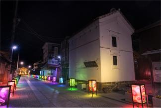 新たな夜景で町おこし。「歴史」「文化」「光」で情緒豊かな街の夜を。夜間活性化に向けて、栃木県足利市で「足利銘仙灯り」イベントが初開催!