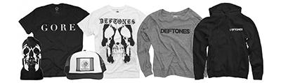 全世界で絶大な支持を得ているヘヴィ・ロック・バンド来日記念!DEFTONES公式ONLINE storeオープン!