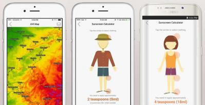 北九州発!「QTemp」最適な日焼け止め量を視覚的に自動計算する機能を4/27搭載!