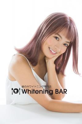 鈴木あや「Whitening BAR」イメージモデルに起用