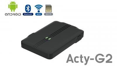 Android搭載!高精度、薄型、低価格のGPSトラッカー+IoTゲートウェイ「Acty-G2」を発売