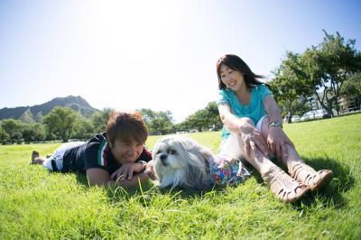 <世界中のどこにでも愛犬たちと旅ができる次代を創る>を企業理念に、伊豆・浮山温泉・坐魚荘に対し、ペット部屋の監修及びペット連れ顧客に対するコンサルティング業務の提供をスタートしました。