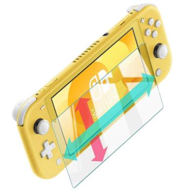 """新発売『Nintendo Switch Lite """"抜群の透明感、最高の滑り心地""""の液晶保護フィルム透明版』もamazonにて一足早くご予約開始。最高の指すべり、飛散防止ガラスなのでお子様でも安心"""
