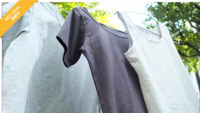 【クラウドファンディング目標額達成!そして次へ。】オーガニック由来・炭素繊維Tシャツで自分も環境もストレスフリーな生活を。