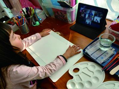 子どもが夢中になる!オンラインアート教室 先着50名様限定『芸術の秋・体験レッスン無料キャンペーン』