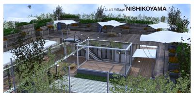 11月6日(金)目黒区の西小山駅前に 「ヒロバ型創造施設 Craft Village NISHIKOYAMAがオープンします。  -UR都市機構とピーエイによる「地域まちづくり支援事業」-