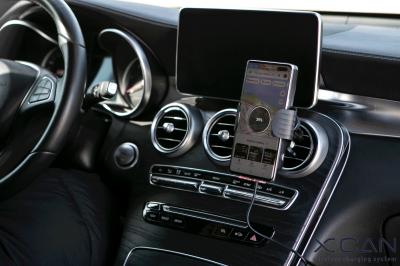 スマートフォンを置くだけで、ナビが自動的に起動する車載用ワイヤレス急速充電器『XCAN』日本ローンチ決定!